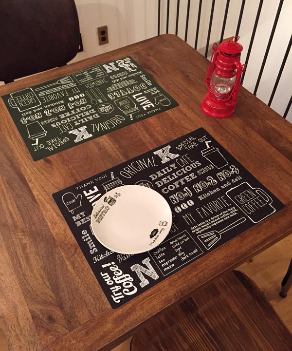 カフェ テーブル セリエ 100円均一 テーブルクロス