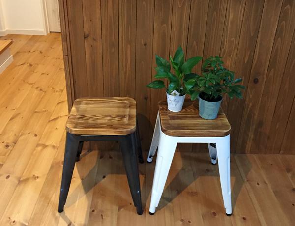 スツール お洒落な椅子 メタル