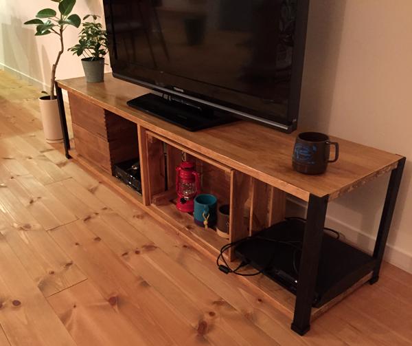 テレビ台DIY