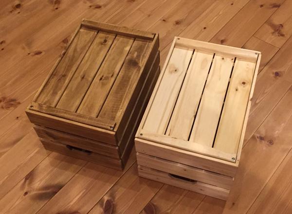 IKEA木箱 ブライワックス
