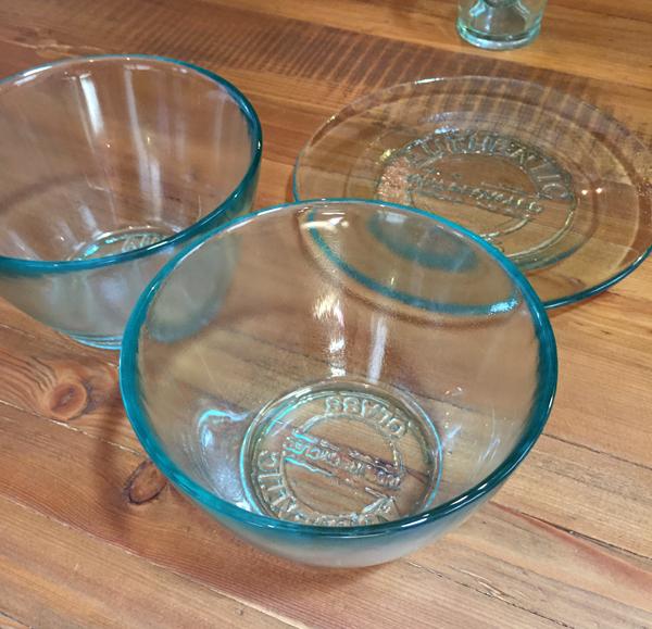 ヴァソオーセンティックのリサイクルガラス